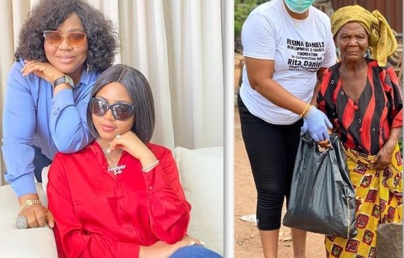 Celebs Who Give Back: Rita Daniels And Regina Daniels