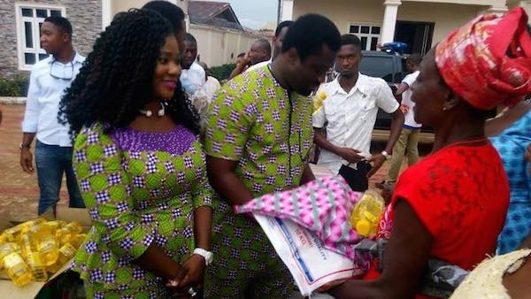 African Celebrities Who Give Back : Mercy Johnson-Okojie