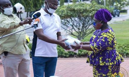 Kennedy Agyapong Donates 150,000 Face Masks To The presidency Of Ghana