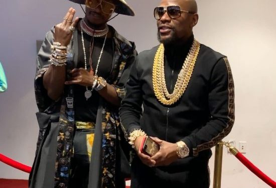 Freedom Jacob Caesar reveals his billionaire status in new video with Floyd Mayweather