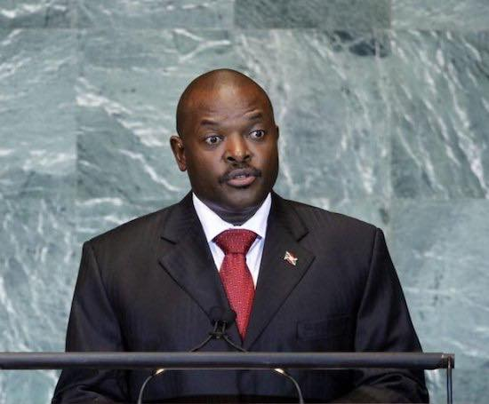 His Excellency Pierre Nkurunziza Has Passed Away