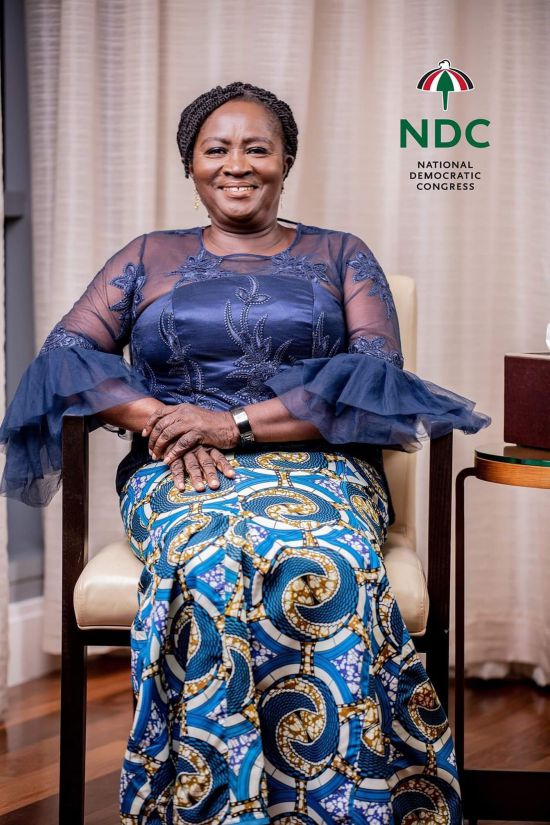 Jane Naana Opoku-Agyeman NDC  Vice Presidential Candidate