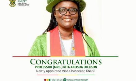 KNUST Appoints First Female VC