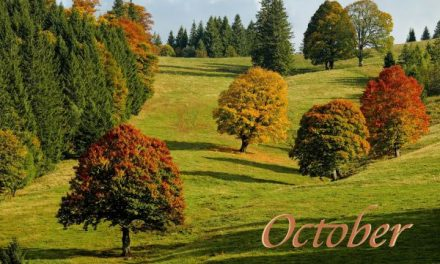 Hello October  – Happy New Month