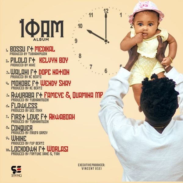 Strongman Burner Set To Release 10AM ALBUM On November 13th