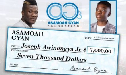 Asamoah Gyan: Celebrities Who Give Back