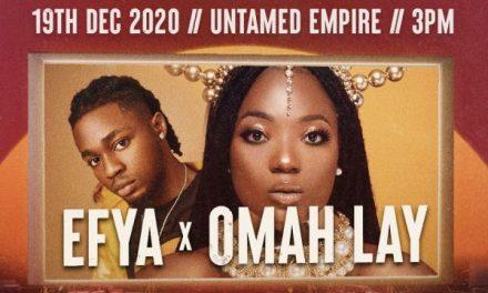 Efya x Omah Lay 2020 Drive In Cinema And Concert