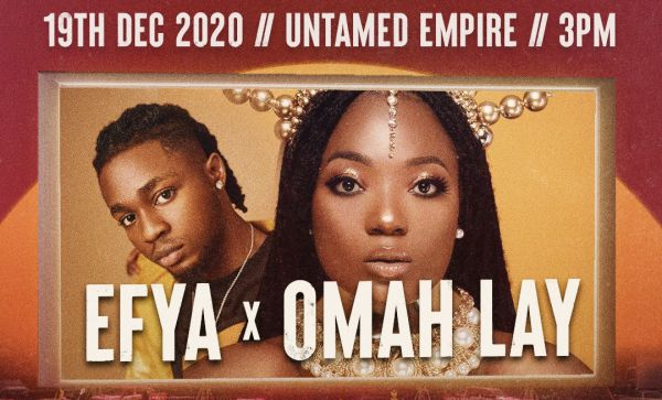 Efya x Omah Lay 2020 Drive In Cinema And Concert
