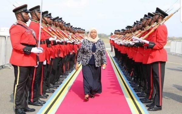 Samia Suluhu: First Female Tanzania President