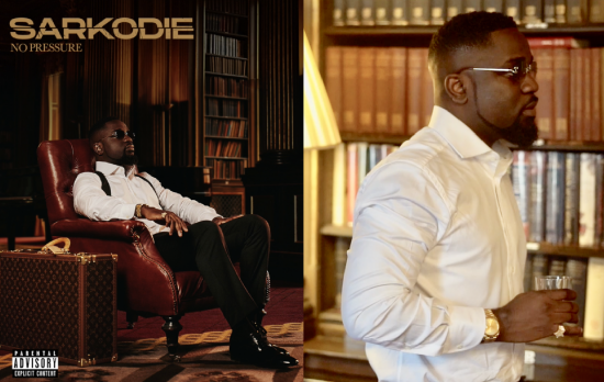 Sarkodie Set To Release New Album 'No Pressure' On 9th July