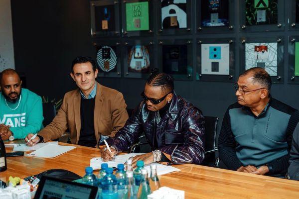 Diamond Platnumz Inks A Deal Partnership With Warner Music SA