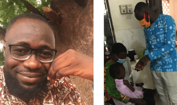 Francis Danso is reducing Ghana infant mortality rates