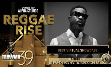 Sarkodie Wins 'Best Virtual Concert Of The Year Award At  IRAWMA 2021