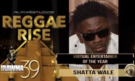 Shatta Wale Wins Best Virtual Entertainer Award At IRAWMA 2021