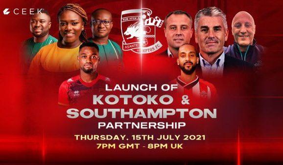 Asante Kotoko And SouthamptonPartnership Launched On Ceek